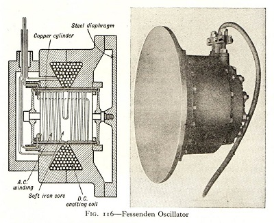Diagram of a Fessenden Oscillator