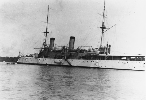 OLYMPIA at Naval Academy 1909