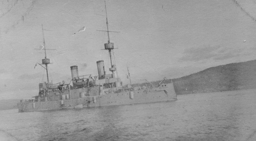OLYMPIA in Murmansk 1918