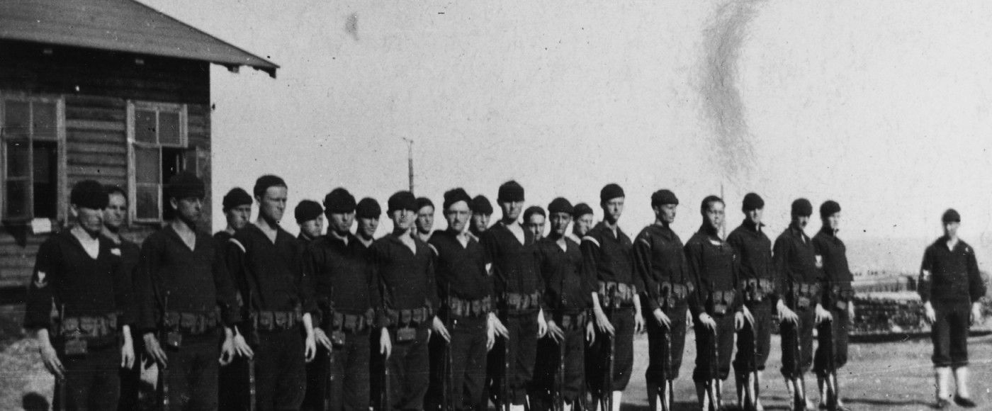 Sailors from OLYMPIA in Murmansk 1918